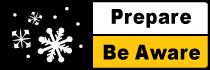 Prepare - Be Aware Winter Driving Campaign