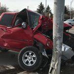Truck crash signal