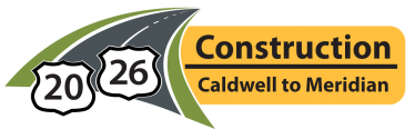 US 20-26 Construction: Caldwell to Meridian