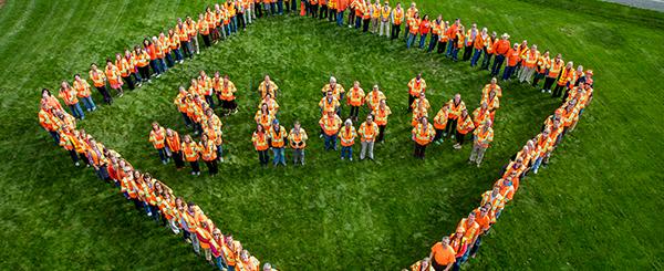 Go Orange Message
