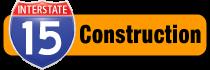 I-15 construction