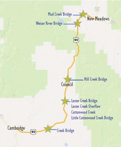 US 95 Idaho Transportation Department