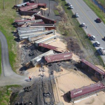 Train Derailed near U.S. 95