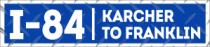 I-84 Karcher to Franklin Banner