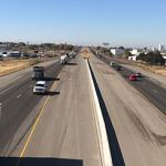 Interstate 84 looking west from Franklin Blvd. Interchange