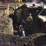 Eagle Road Pipe Burst