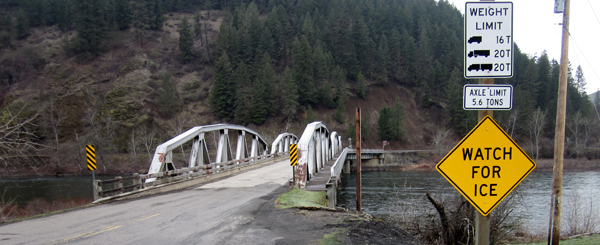 Work on East Kooskia Bridge finishes early
