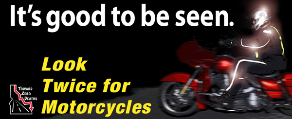 """Look Twice for Motorcycles"" during May's Motorcycle Awareness Month"