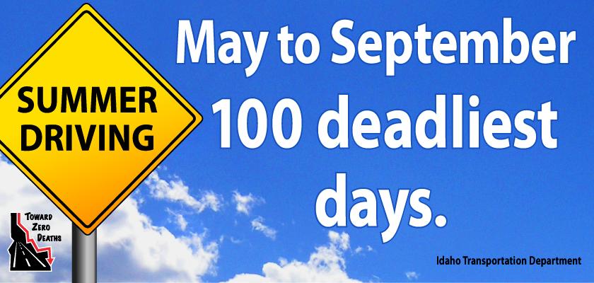 Memorial Day Weekend Marks Beginning of 100 Deadliest Days
