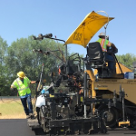 Interstate repaving