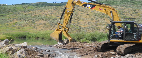 Tin Cup Beaver Dam Restoration project benefits wildlife and ITD