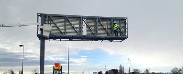 Overhead Sign Inspection