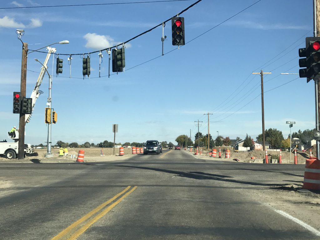 Intersection improvements ramp up on Idaho 55 in Canyon County; motorist urged to plan ahead and consider alternate route