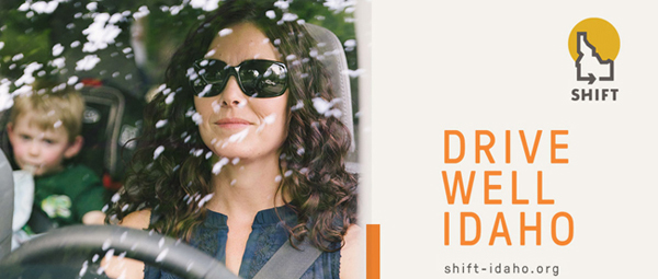ITD Office of Highway Safety launches SHIFT Idaho engaged-driving campaign