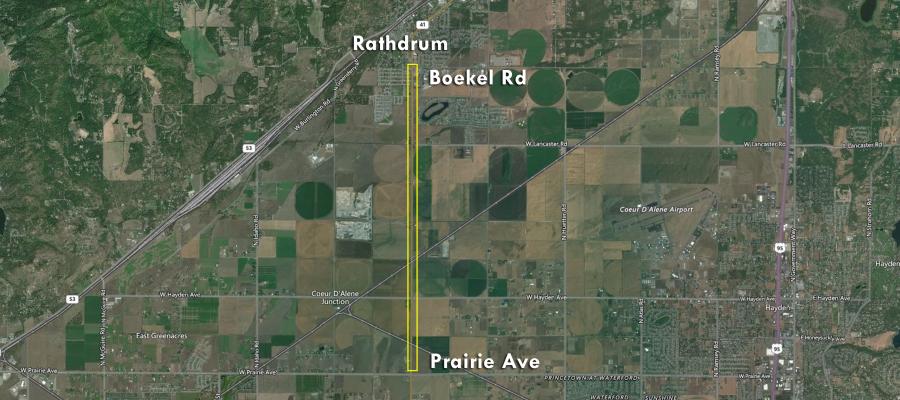 ID-41: Prairie Ave to Boekel Rd