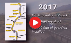 I-15 Construction in 2017 Video