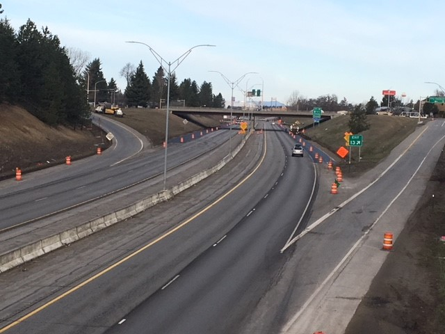 Day work begins on April 9 to resurface I-90 in CDA