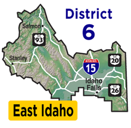 East Idaho Map | District 6 Map