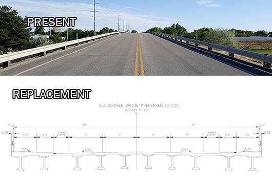 ITD begins work to replace Cloverdale bridge over I-84 with support of ACHD Commissioners