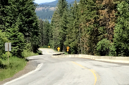 Landslide repairs to ID-5 near Plummer will start next week