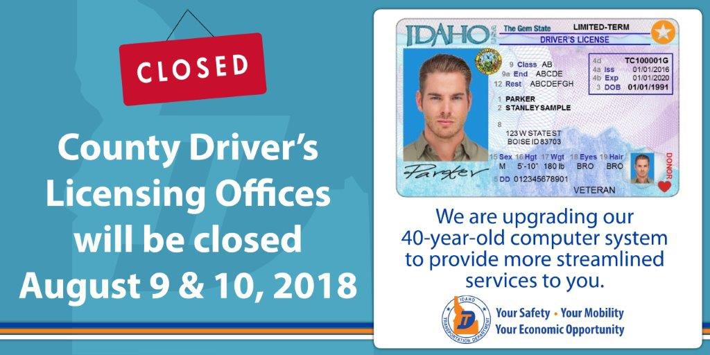 County DMV offices statewide to close Aug. 9-10 for system upgrades