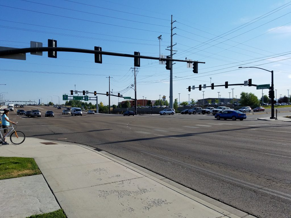 New traffic signals, roadway improvements to improve safety on Idaho Highway 69 in Meridian