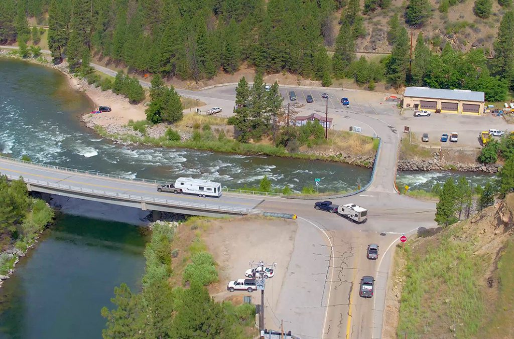 The Sunday Backup: Idaho Highway 55 and the Banks-Lowman Intersection