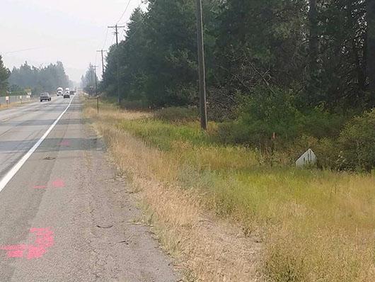 Safety improvements start next week west of Rathdrum on ID-53