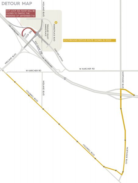 Weekend Ramp Closure Planned For I 84 Karcher Interchange In Nampa