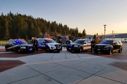 Law enforcement agencies unite to honor Jacob Leeder this holiday season