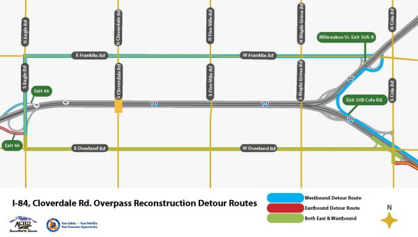 I 84 Overnight Closures As Work Begins To Replace Cloverdale Road