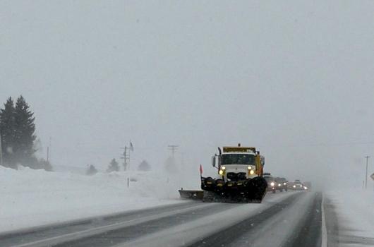 Extreme winter weather closes roads, stretches resources