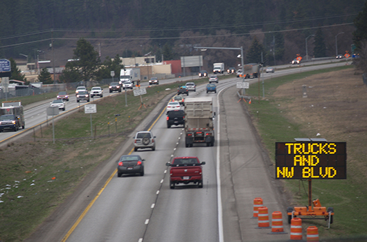Traffic impacts on I-90 to change later this week