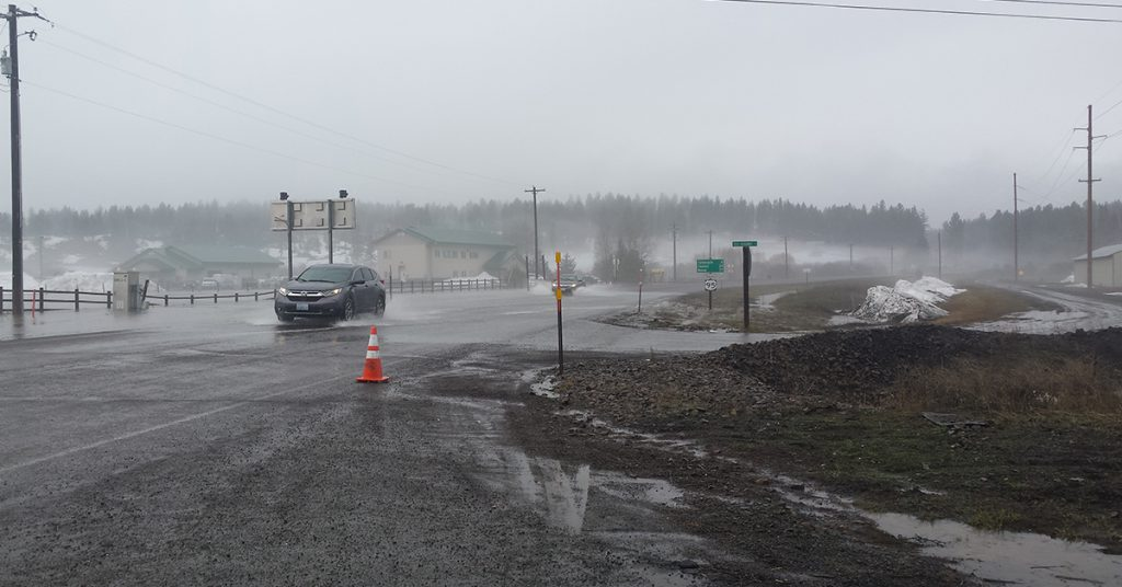 Flooding in Central Mountains creates hazards, motorists urged to use caution