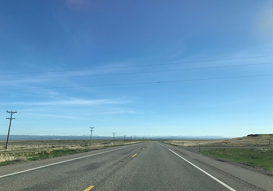 Construction on US-93 in Lincoln County