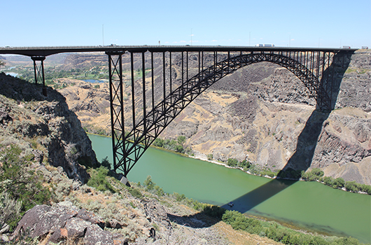 Perrine Bridge inspection to take place next week near Twin Falls