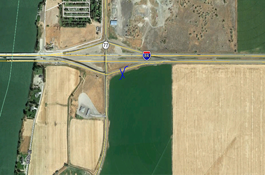 Eastbound 216 interchange on-ramp closure expected this week near Declo