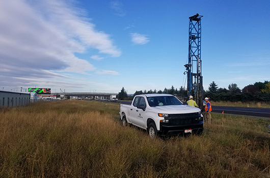 Drilling at Interstate 90 and Idaho Highway 41 interchange planned through October