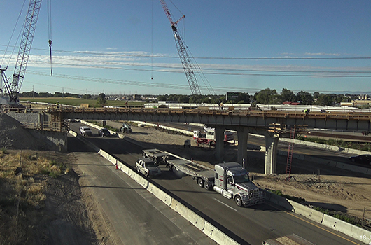 I-84 in Nampa will be detoured overnight Sept. 16-19 for work on Karcher Overpass