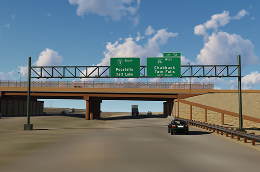 ITD to open Northgate Interchange with ceremony Friday at 11 a.m.