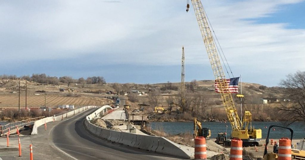 Work between ID-78 and the C-Line Canal will begin Monday, Feb.3