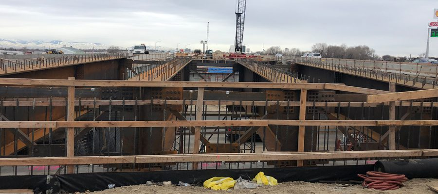 Construction on Northside Interchagne