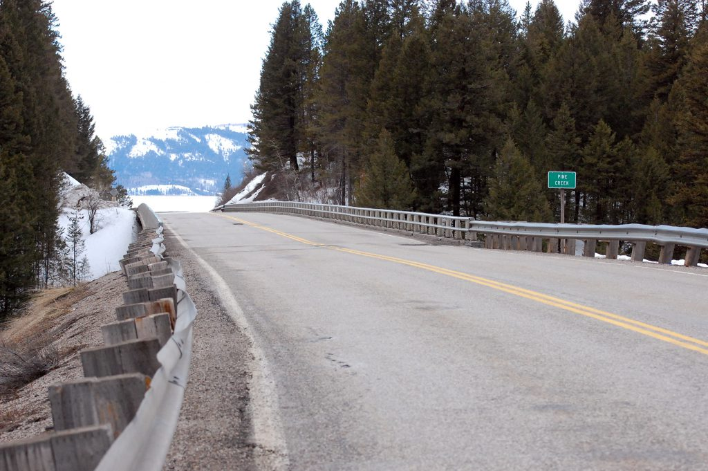 Bridge rehabilitation to begin construction today on the ID-31 Pine Creek bridge