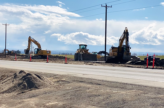 Change in traffic on US-93 in Jerome County starting this week