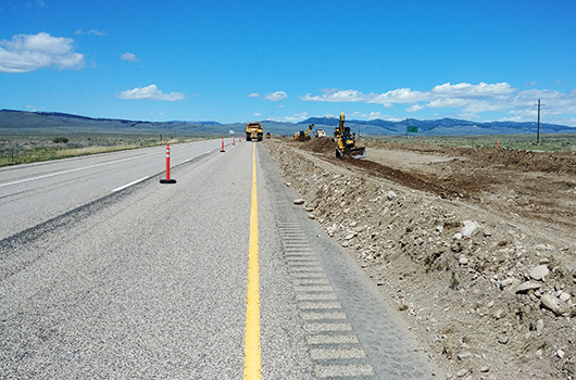 Construction on I-15 between Dubois and Hamer begins today
