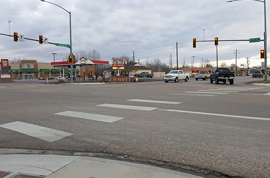 intersection of ID-52 and ID-16 in Emmett Idaho