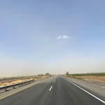 Westbound Interstate 84 near Jerome, Idaho