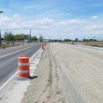 Image of highway construction on US-30 in Burley.