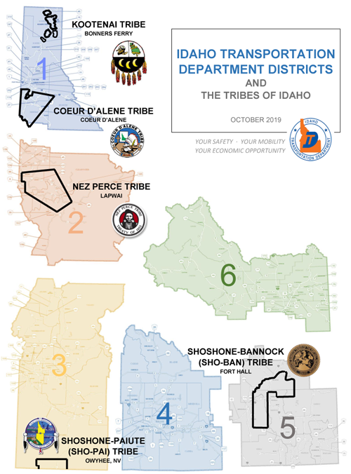 Tribes of Idaho and ITD Districts
