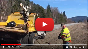 Work Zone: Roadkill Removal